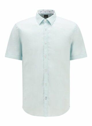 Boss Ronn 2 Kurzarm-Hemd Herren, Blau