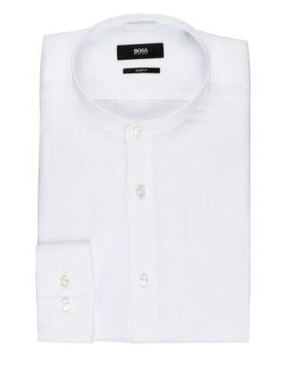 Boss Jordin Leinenhemd Herren, Weiß