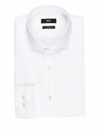 Boss Jason Piqué-Hemd Herren, Weiß