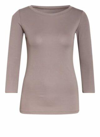 Boviva Shirt Mit 3/4-Arm beige