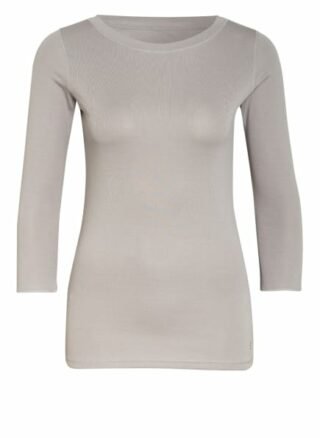 Boviva Shirt Mit 3/4-Arm grau