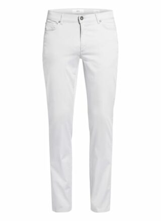 BRAX Cadiz U 5-Pocket-Hose Herren, Silber
