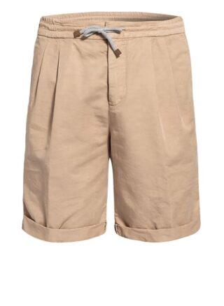 Brunello Cucinelli Shorts Mit Leinen beige