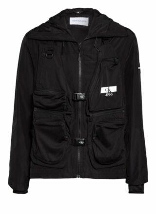 Calvin Klein Jeans 2-In-1-Jacke schwarz