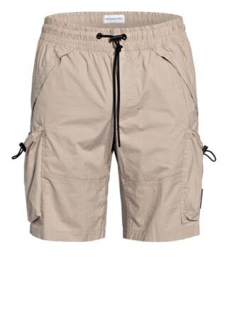 Calvin Klein Jeans Cargo-Shorts Herren, Beige