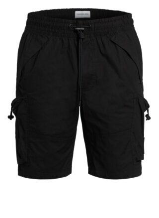 Calvin Klein Jeans Cargo-Shorts Herren, Schwarz