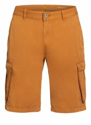 camel active Houston Cargo-Shorts Herren, Braun