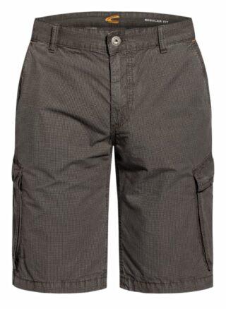 Camel Active Cargo-Shorts Houston Regular Fit grau