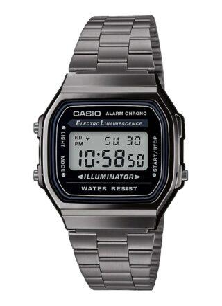 Casio Vintage A168WEGG-1AEF Uhr Herren, Grau