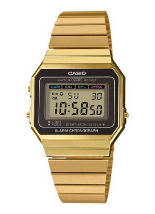 Casio Vintage A700WEG-9AEF Uhr Herren, Gold