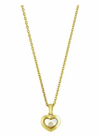 Chopard Anhänger Happy Diamonds Icons Anhänger Aus 18 Karat Gelbgold Und Diamanten gold
