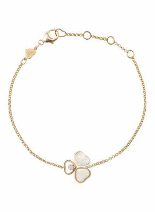 Chopard Armband Happy Hearts Wings Armband Aus 18 Karat Roségold, Diamanten Und Perlmutt rosegold