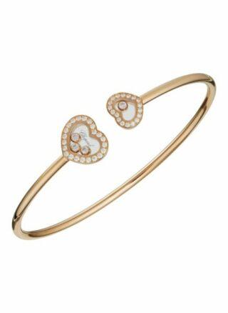 Chopard Armreif Happy Diamonds Icons Armreif Aus 18 Karat Roségold Und Diamanten rosegold