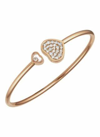 Chopard Armreif Happy Hearts Armreif Aus 18 Karat Roségold Und Diamanten rosegold
