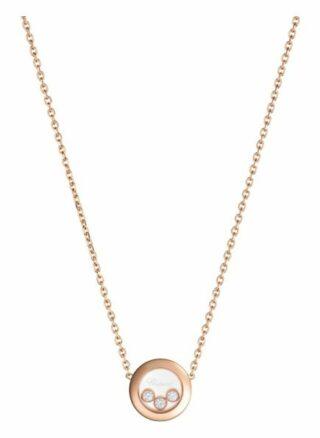 Chopard Halskette Happy Diamonds Icons Halskette Aus 18 Karat Roségold Und Diamanten rosegold