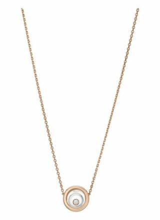 Chopard Halskette Happy Spirit Halskette Aus 18 Karat Roségold, Aus 18 Karat Weißgold Und Diamanten rosegold