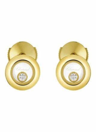 Chopard Ohrring Happy Diamonds Icons Ohrringe Aus 18 Karat Gelbgold Und Diamanten gold