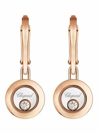 Chopard Ohrring Happy Diamonds Icons Ohrringe Aus 18 Karat Roségold Und Diamanten rosegold