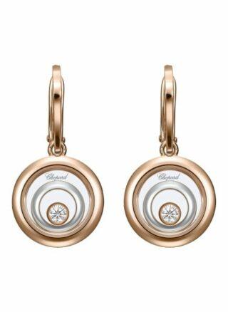Chopard Ohrring Happy Spirit Ohrringe Aus 18 Karat Roségold, Aus 18 Karat Weißgold Und Diamanten rosegold