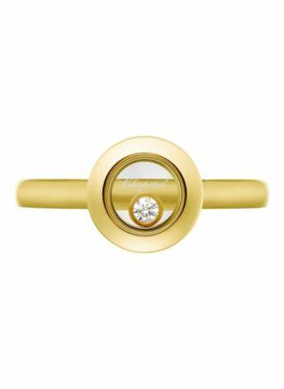 Chopard Ring Happy Diamonds Icons Ring Aus 18 Karat Gelbgold Und Diamanten gold