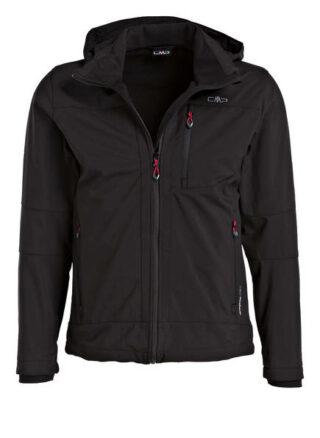 Cmp Softshell-Jacke schwarz