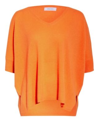 Darling Harbour Strickshirt Aus Cashmere orange