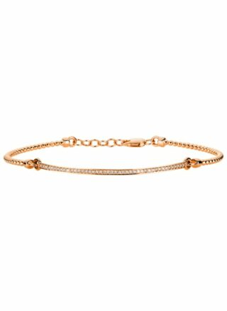 Diamond Group Armband rosegold