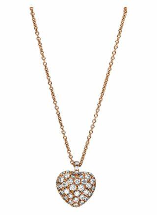 Diamond Group Collier rosegold