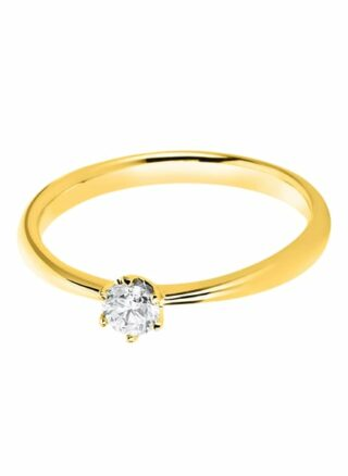 Diamond Group Ring gold