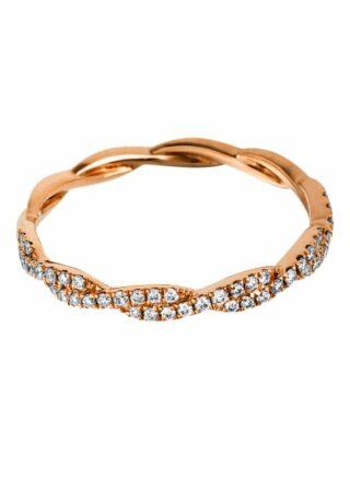 Diamond Group Ring rosegold