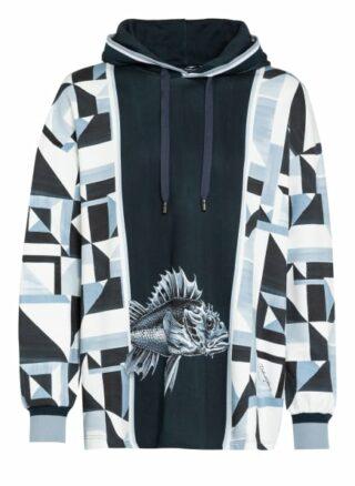 Dolce&Gabbana Oversized-Hoodie blau