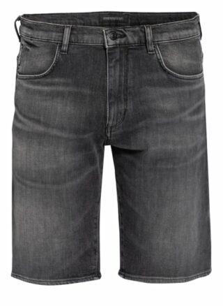 drykorn Seek_2 Jeans-Shorts Herren, Grau