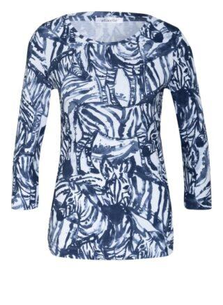 Efixelle Shirt Mit 3/4-Arm blau