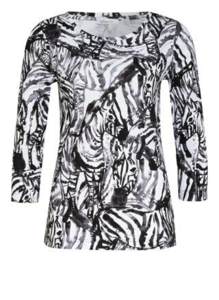Efixelle Shirt Mit 3/4-Arm schwarz