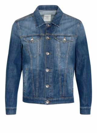 Eleventy Jeansjacke blau