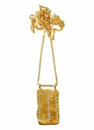 Elhanati Kette Roxy Mit Diamanten gold