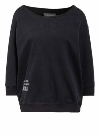 Er Elias Rumelis Sweatshirt Mit 3/4-Arm schwarz