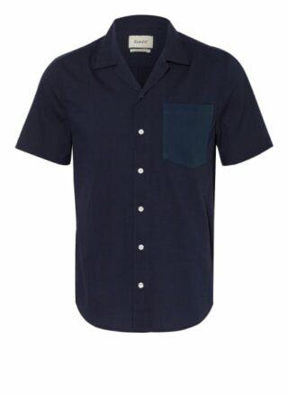 forét Duck Resorthemd Herren, Blau
