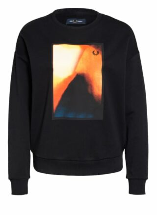 Fred Perry Sweatshirt schwarz