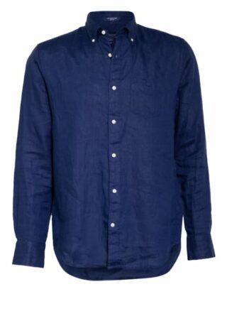 Gant Leinenhemd Herren, Blau
