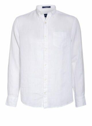 Gant Leinenhemd Herren, Weiß