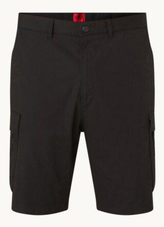 HUGO Johny Cargo-Shorts Herren, Schwarz