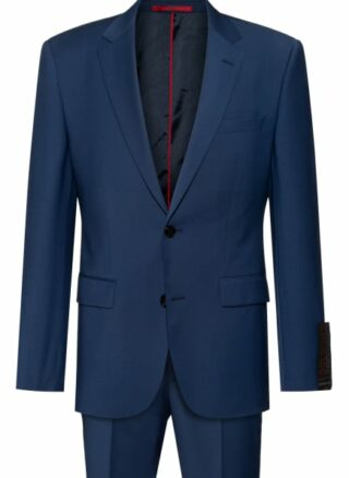 HUGO Jeffery/simmons204x Anzug Herren, Blau