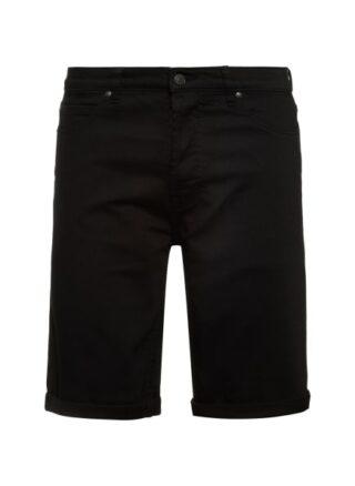 HUGO 634/S Jeans-Shorts Herren, Schwarz