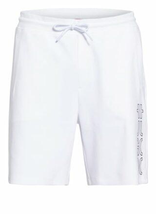 HUGO Doolio Sweatshorts Herren, Weiß