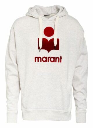 Isabel Marant Oversized-Hoodie Miley weiss