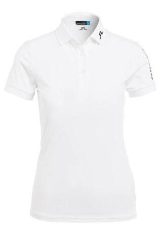 J.LINDEBERG Poloshirt Damen, Weiß