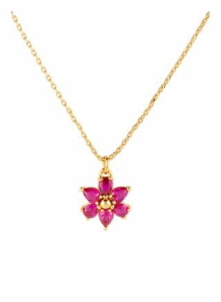 Kate Spade New York Kette First Bloom pink