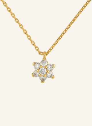 Kate Spade New York Kette Miosotis Flower gold