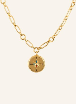 Kate Spade New York Kette My Medallion Compass gold